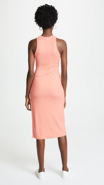Cotton Citizen The Melbourne Tank Dress with Slit