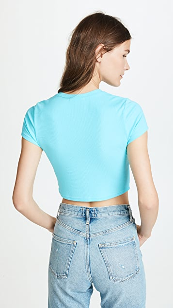 Cotton Citizen The Venice Cropped Tee