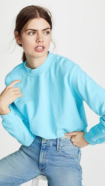 Cotton Citizen Milan Crop Crew Sweatshirt