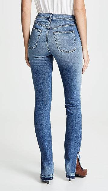Cotton Citizen High Split Jeans