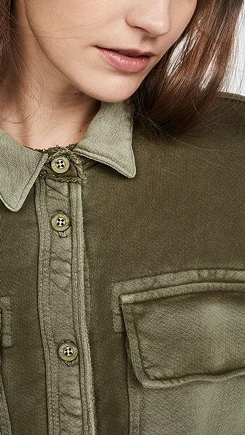 Cotton Citizen Куртка на пуговицах Brooklyn