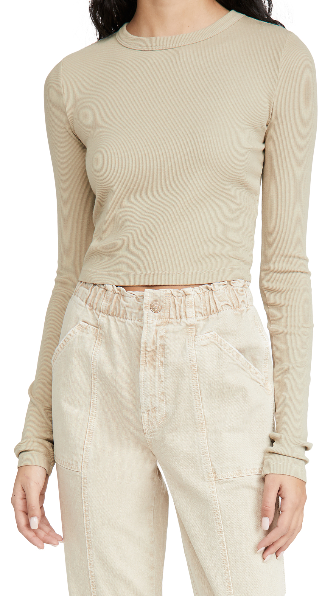 Cotton Citizen VERONA CROPPED SHIRT