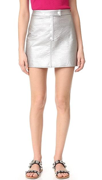 Courreges Mini Snap Skirt