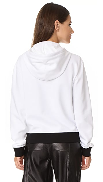 Courreges Hood Sweatshirt