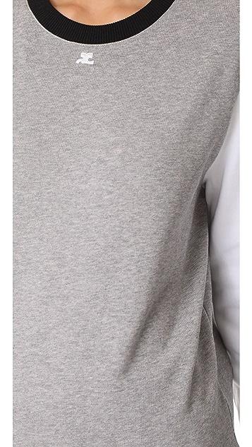 Courreges Long Sleeve Sweatshirt