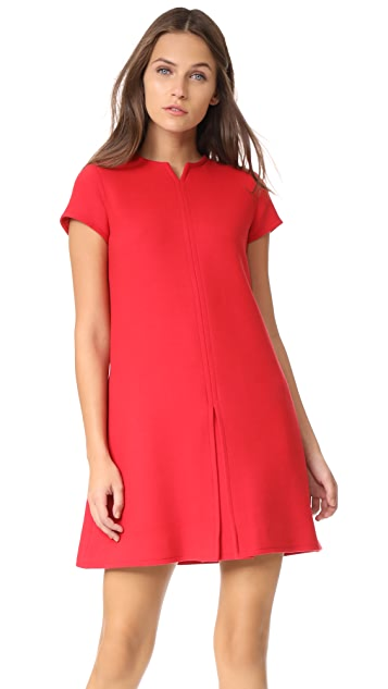 Courreges Short Sleeve Mini Dress