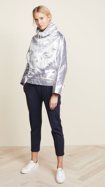 Courreges Snapped Sleeves Rain Jacket