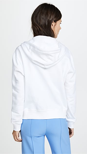 Courreges Snapped Hooded Jacket