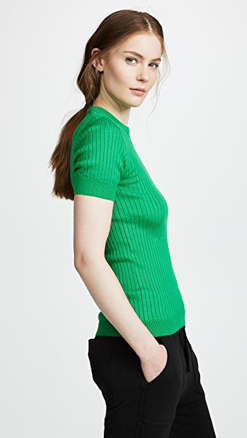 Courreges Short Sleeve Top
