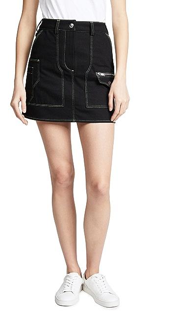 Courreges Safari Miniskirt