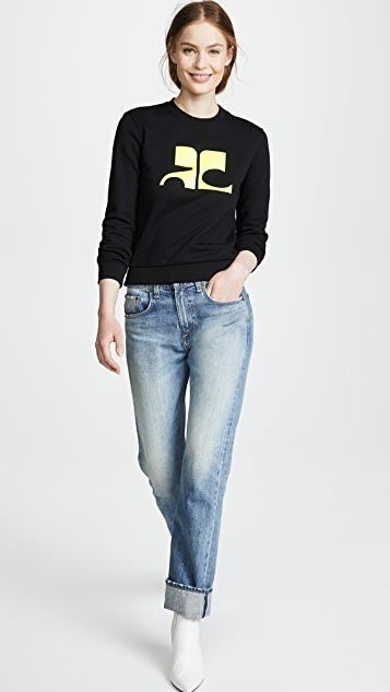Courreges Logo Sweater