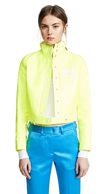 Courreges Fluorescent Jacket
