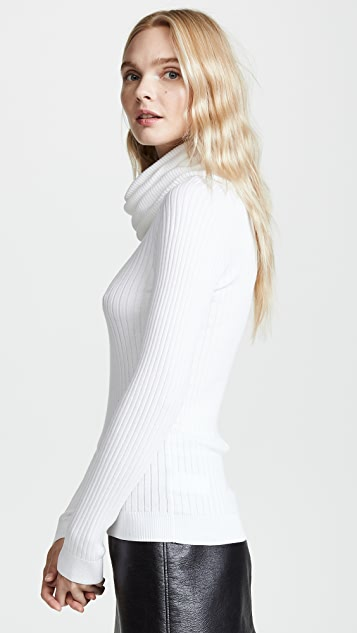Courreges Oversized Cowl Neck Sweater