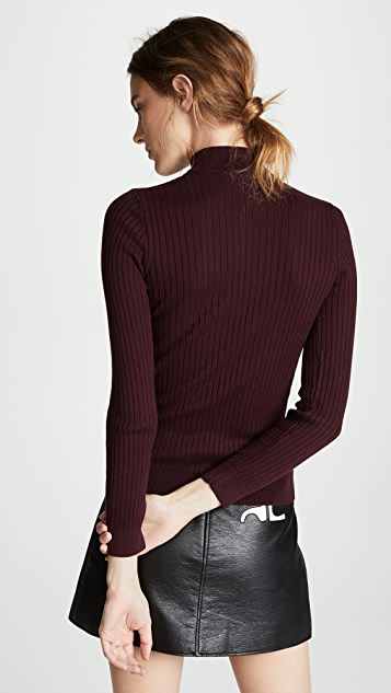 Courreges High Neck Sweater