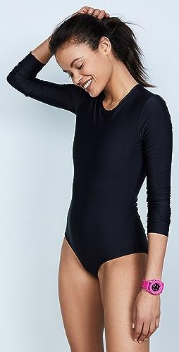 Cover - Long Sleeve Rash Guard Swimsuit