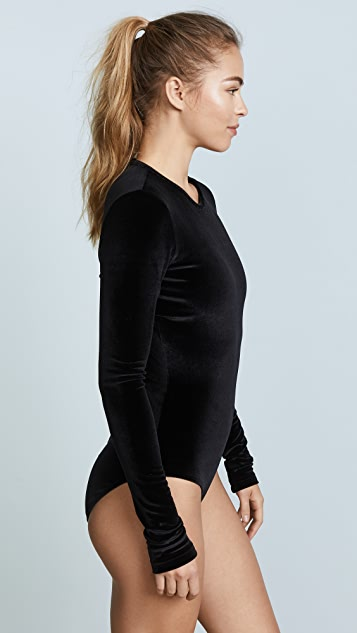 Cover Velvet Long Sleeved Swimsuit