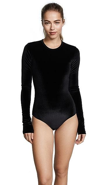 Cover Velvet Long Sleeved Swimsuit