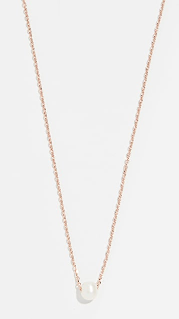Cloverpost Freshwater Cultured Pearl Necklace