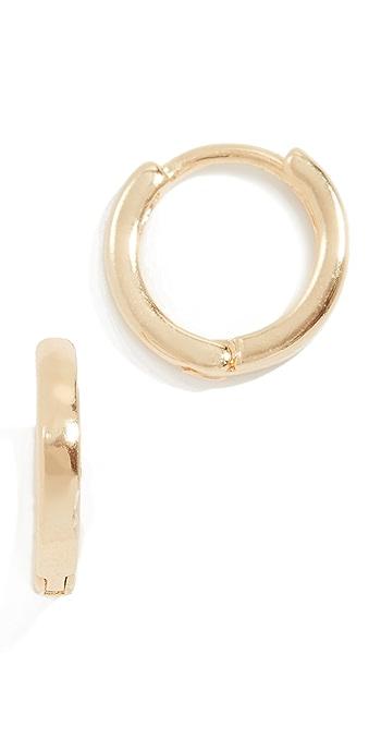 Cloverpost Hug Hoop Earrings - Gold