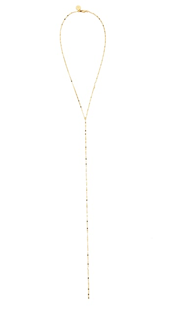 Cloverpost Twinkle Excess Tight Lariat Necklace