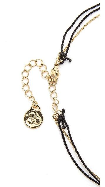 Cloverpost Flash String Choker Necklace