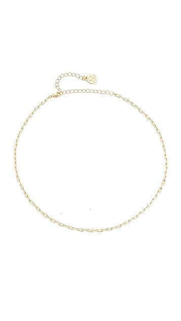 Cloverpost Bike Chain Choker Necklace