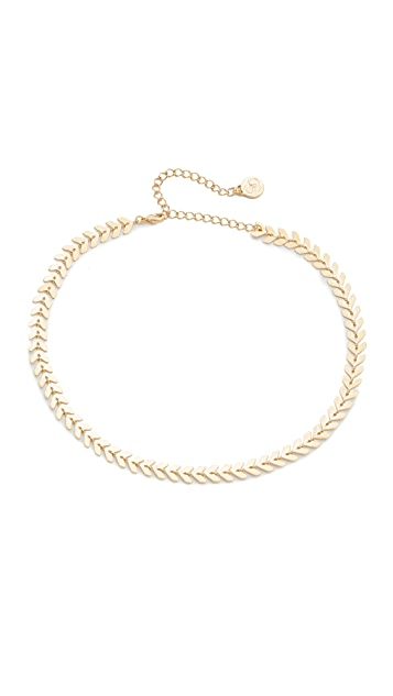 Cloverpost Laurel Choker Necklace