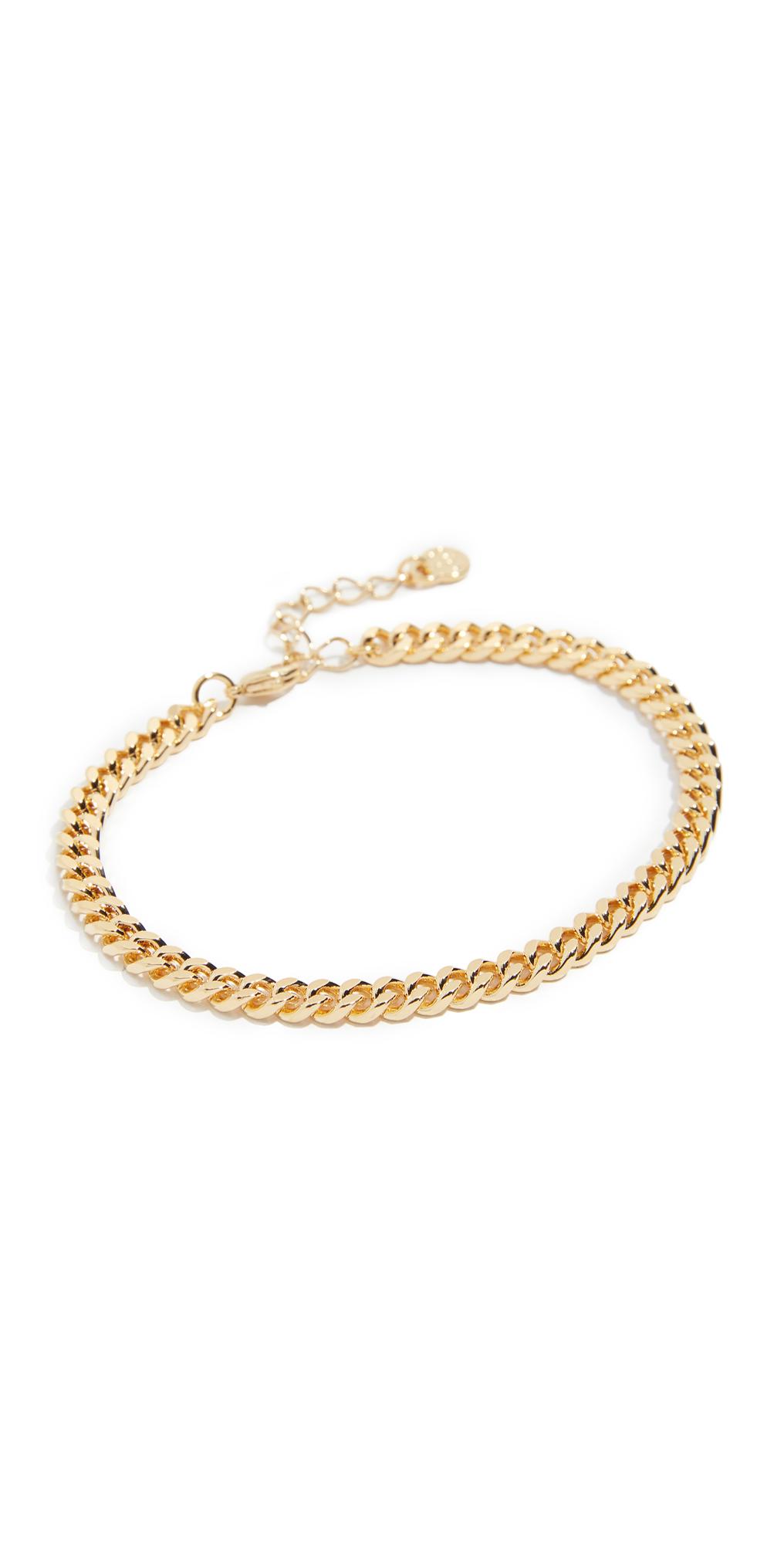 Large Curb Chain Bracelet