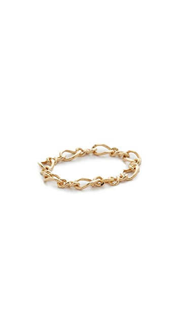 Cloverpost Figure Chain Ring