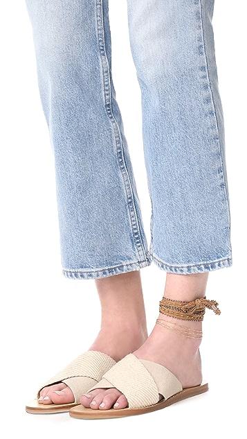 Cloverpost Twist Three Anklet