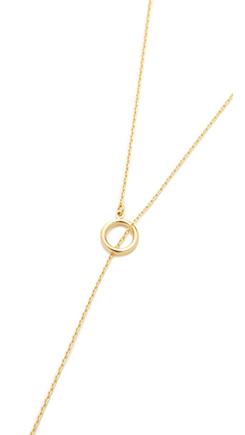 Cloverpost Excess Toggle Lariat Necklace