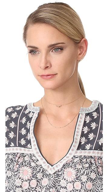 Cloverpost Step Choker Necklace