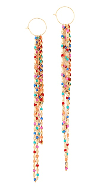 Cloverpost Pop fringe earrings gvS4nzL6i6
