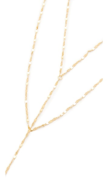 Cloverpost Twinkle Drape Necklace
