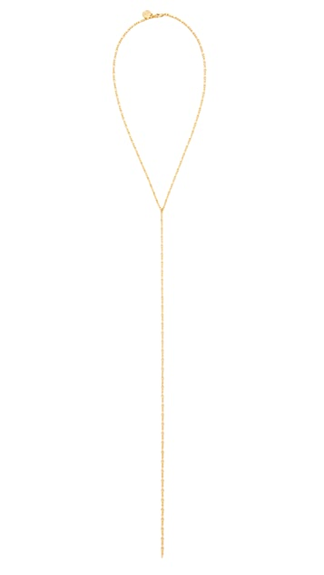 Cloverpost Code Excess Tight Lariat Necklace