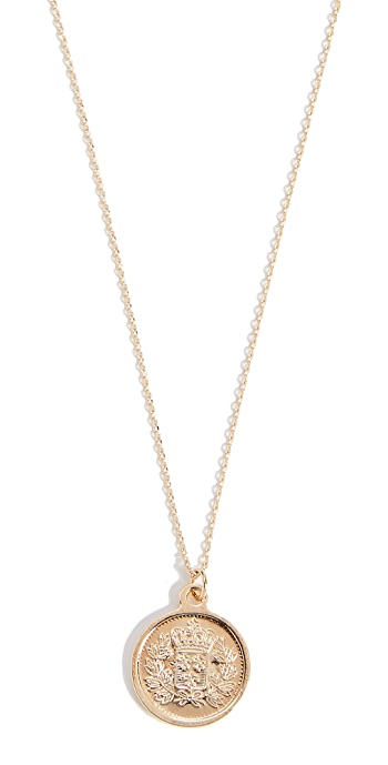 Cloverpost 1971 Necklace - Yellow Gold