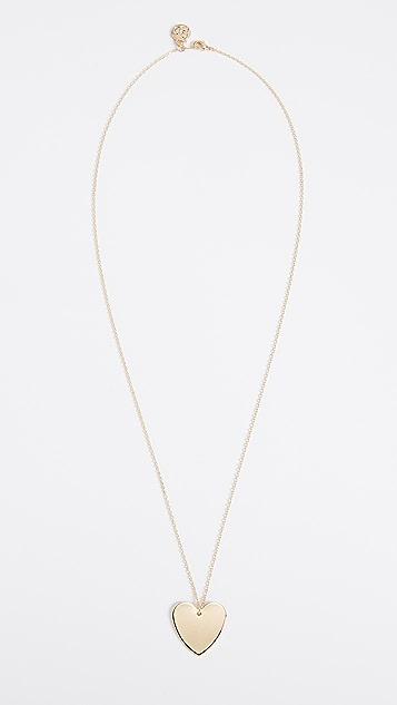 Cloverpost 心形项链