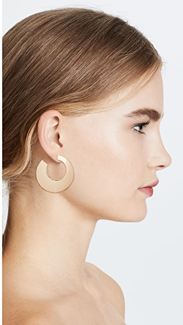 Cloverpost Cosmic Hoop Earrings