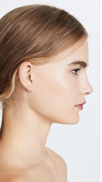 Cloverpost Clip Earrings