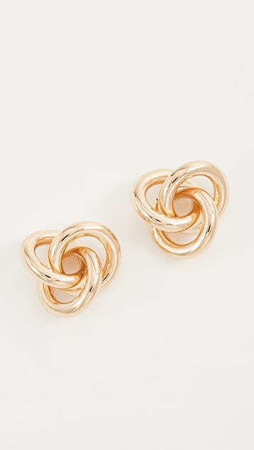 Cloverpost Fortune Earrings