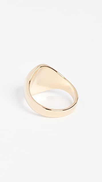 Cloverpost Signet Ring