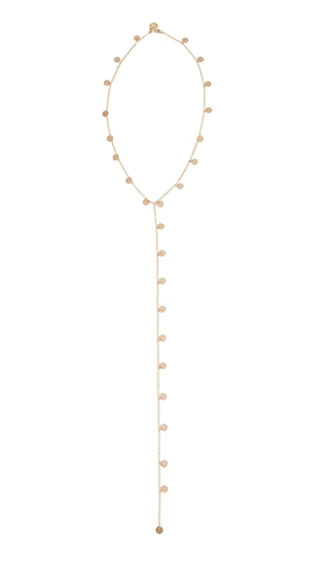 Cloverpost Cycle Lariat Necklace