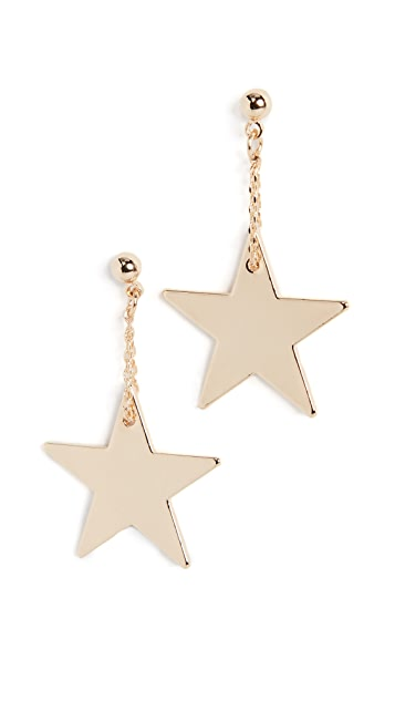 Cloverpost Star Skim Earrings
