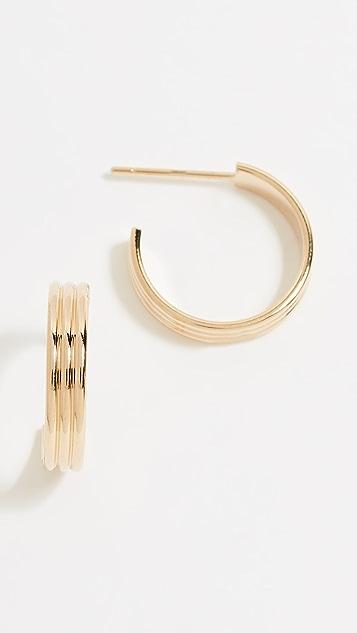 Cloverpost Direct Hoop Earrings