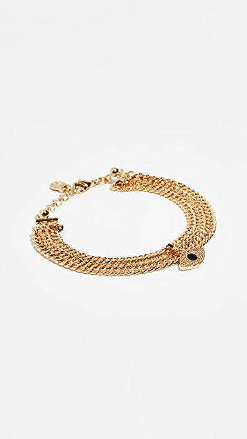 Cloverpost Evil Eye Snug Bracelet