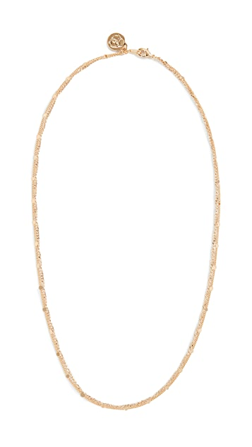Cloverpost Clasp Necklace