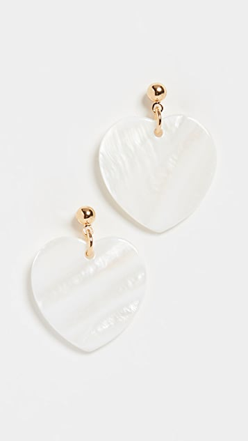 Sheen Skim Earrings by Cloverpost