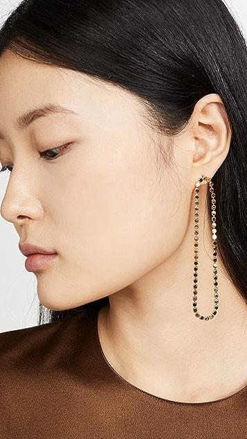 Cloverpost 波纹形耳环