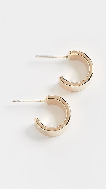 Cloverpost Small Stroll Hoop Earrings