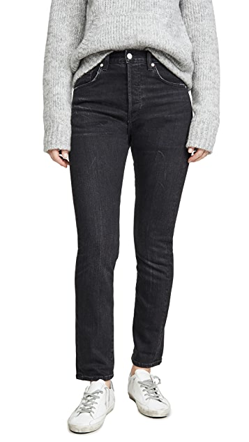 CQY Винтажные узкие джинсы Icon